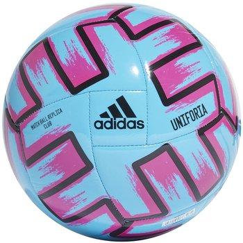 Adidas, Piłka nożna, Uniforia Euro 2020 Club FH7355, niebiesko-różowy, rozmiar 4-Adidas