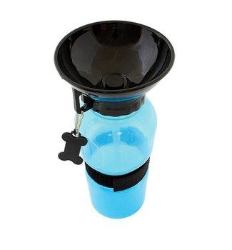AG604A POIDŁO PODRÓŻNE DLA PSA BIDON 500ml NIEBIES - niebieski-Home Appliances