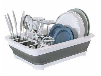 AG659B OCIEKACZ DO NACZYŃ SKŁADANY SILIKON 36CM-Home Appliances