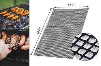 AG666B MATA NA GRILL TEFLONOWA SIATKA BBQ 40x33cm-Home Appliances