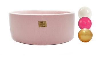Agatkowo, suchy basen z piłeczkami, 90x30, różowy