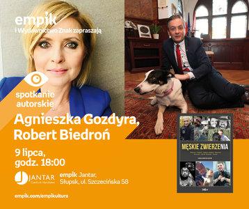 Agnieszka Gozdyra, Robert Biedroń | Empik Jantar