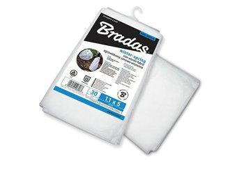 Agrowłóknina zimowa BRADAS, biała, 1,1x5 m-BRADAS