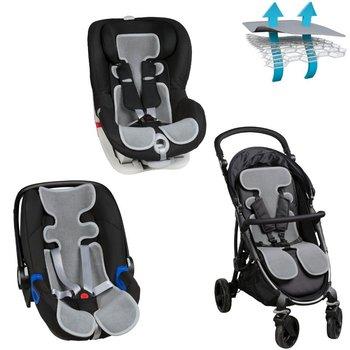AirCuddle, Cool Seat, Uniwersalna wkładka antypotowa do fotelików 0-13 kg /9-18 kg/spacerówki, ALLinONE-AirCuddle