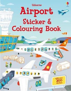Airport Sticker and Colouring Book-Tudhope Simon