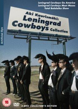 Aki Kaurismaki: The Leningrad Cowboys Collection (brak polskiej wersji językowej)-Kaurismaki Aki