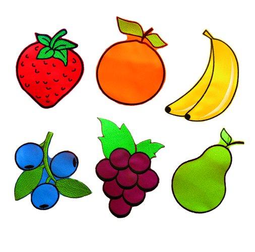 Akson, Dodatki do Chust Animacyjnych - owoce - 6 szt - Akson
