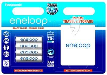 Akumulator AAA PANASONIC Eneloop, Ni-MH, 750 mAh, 1.2 V, 4 szt.-Panasonic