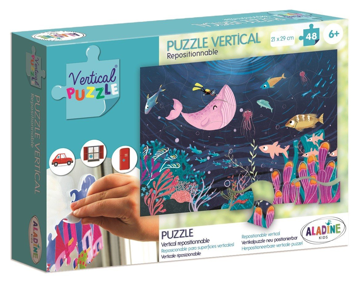 Aladine, puzzle wertykalne Morze - Aladine