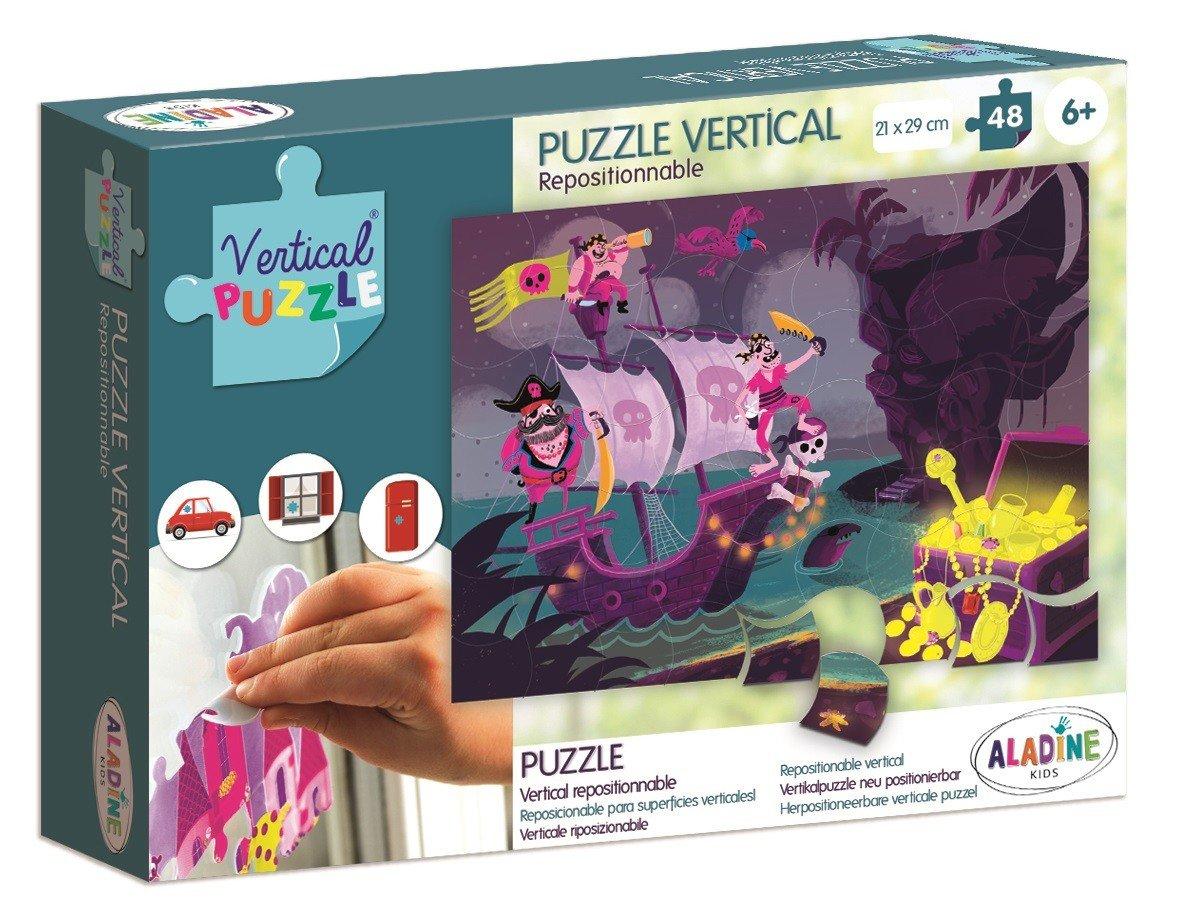 Aladine, puzzle wertykalne Piraci - Aladine