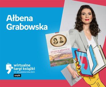 Ałbena Grabowska – PREMIERA | Wirtualne Targi Książki