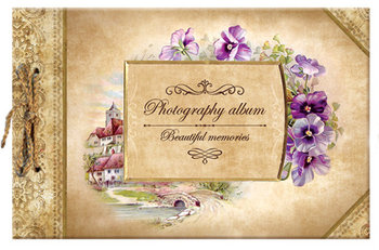 "Album Fotograficzny ""Beautiful Memories"", Pansis 25x16 cm-MST Toys"