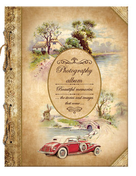 "Album Fotograficzny Retro Beautiful Memories ""Old Car"" - Eurocom"