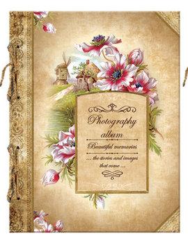 """Album Fotograficzny w stylu Retro Beautiful Memories """"Flowers Village""""-Eurocom"""