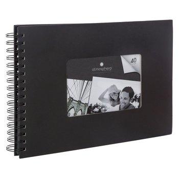 Album na zdjęcia ATMOSPHERA, czarny, 22x32 cm-Atmosphera