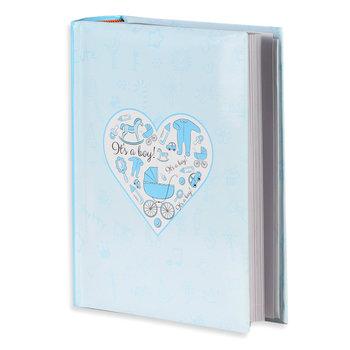 Album na zdjęcia Niebieskie serce, 300 zdjęć-Empik Foto