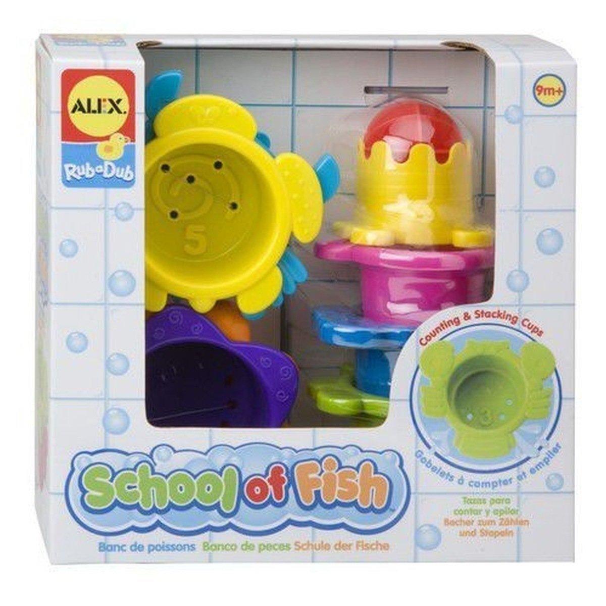 Alex, zabawka do kąpieli Kubki Zwierzęta morskie - Alex