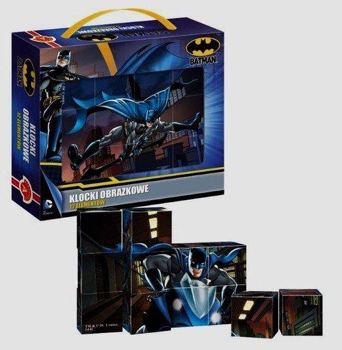 Alexander, Batman, klocki obrazkowe z okienkiem - Alexander
