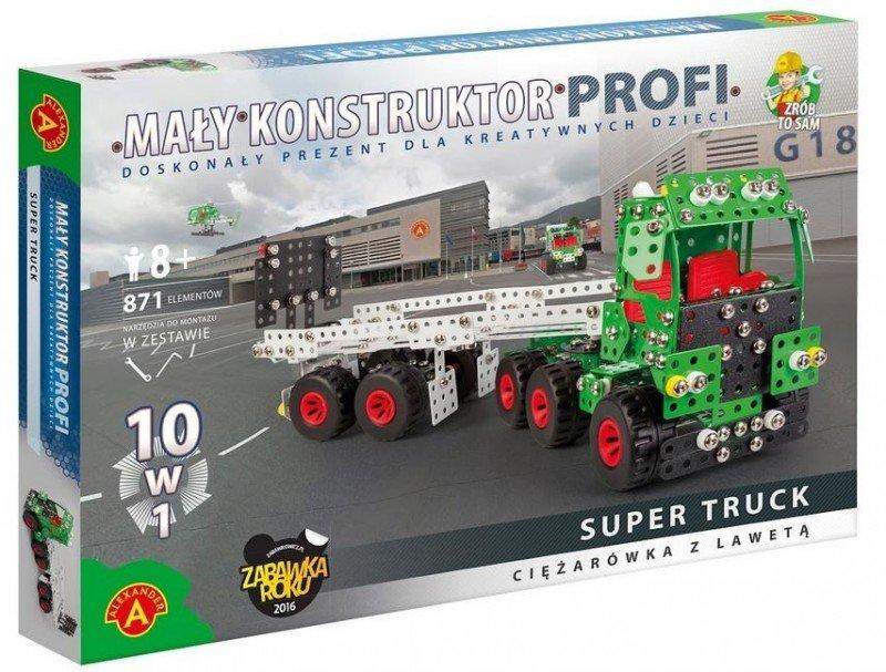 Alexander, Mały konstruktor, klocki konstrukcyjne Super Truck - Alexander