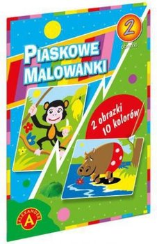 Alexander Piaskowe Malowanki Hipopotam I Malpka Alexander