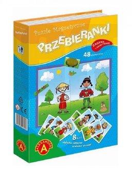 Alexander, puzzle magnetyczne Przebieranki-Alexander