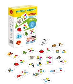 Alexander, Zabawa i Nauka, puzzle Kolory-Alexander