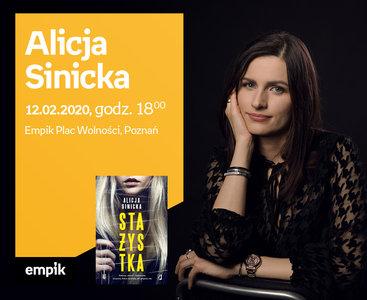 Alicja Sinicka | Empik Plac Wolności