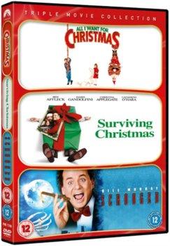 All I Want for Christmas/Surviving Christmas/Scrooged (brak polskiej wersji językowej)-Lieberman Robert, Mitchell Mike, Donner Richard