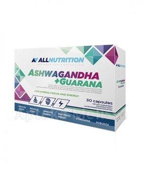 Allnutrition, Ashwagandha + Guarana, 30 kapsułek-Allnutrition