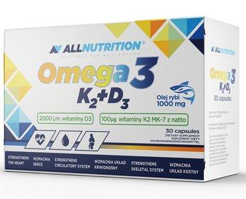 Allnutrition, Omega 3 K2+D3, suplement diety, 30 kapsułek-Allnutrition