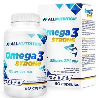 Allnutrition, Omega3 Strong, 90 kapsułek-Allnutrition