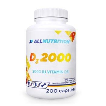 Allnutrition, witamina D3 2000, 200 kapsułek-Allnutrition
