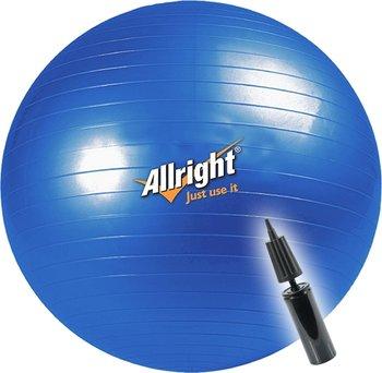 Allright, Piłka gimnastyczna 55cm +pompka-Allright
