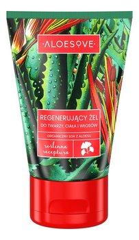 Aloesove, regenerujący żel do twarzy, ciała i włosów, 100 ml-ALOESOVE