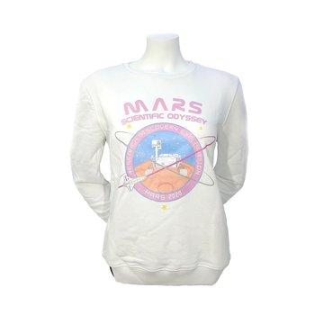 Alpha Industries, Bluza damska, Industries To Mars 126070-09, biały, rozmiar XL-Alpha Industries