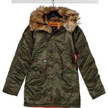 9af5e69c6f38f Alpha Industries, kurtka męska, n3b vf 59 257, zielony, rozmiar XL ...
