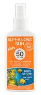 Alphanova, Sun, biospray przeciwsłoneczny dla dzieci, SPF 50, 125 ml-Alphanova
