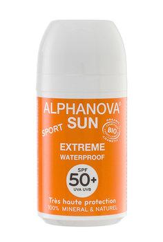 Alphanova, Sun, krem przeciwsłoneczny w kulce, SPF50+, 50 g-Alphanova