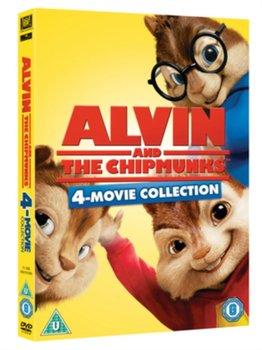 Alvin and the Chipmunks 1-4 (brak polskiej wersji językowej)-Mitchell Mike, Thomas Betty, Becker Walt, Hill Tim