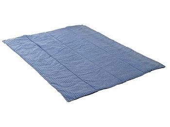 Amazonas, Koc piknikowy, Molly, niebieski, 175x135 cm-Amazonas