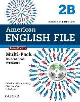 American English File Second Edition: Level 2 Multi-Pack B: With Online Practice and Ichecker - Latham-Koenig Christina, Oxenden Clive, Seligson Paul