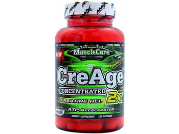 Amix, Kreatyna, MuscleCORE CreAge Concentrated, 120 kaps - Amix