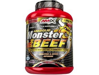 Amix, Suplement diety, Anabolic Monster BEEF, wanilia-limonka, 1000 g-Amix