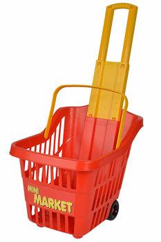 Androni, wózek na zakupy Mini market, czerwony -Androni