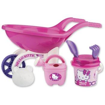 Androni, zabawki do piasku Taczka i foremki Hello Kitty-Androni