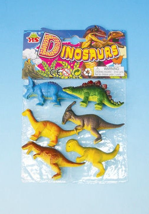 Anek, zestaw zwierząt Dinozaury - Anek