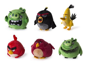 Angry Birds, maskotka - Angry Birds