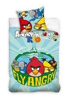 Angry Birds, Pościel dziecięca, 160x200 cm