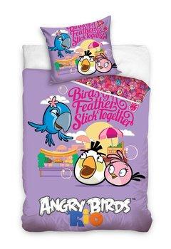 Angry Birds, Pościel dziecięca, 160x200 cm-Carbotex