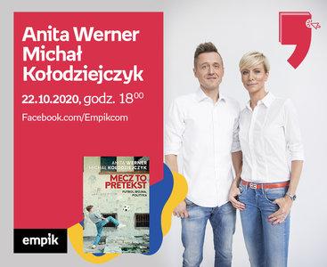 Anita Werner, Michał Kołodziejczyk – Premiera | Wirtualne Targi Książki